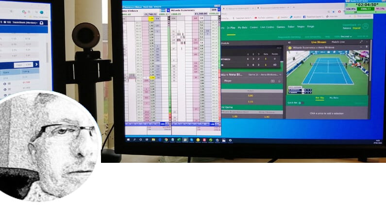 Header image for the site. Shows a PC monitor with tennis trading software